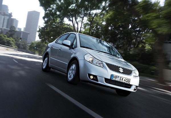 suzuki sx4 sedan-first pictures picture