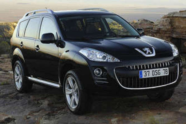 the most interesting suv at the geneva auto show- peugeot 4007 picture