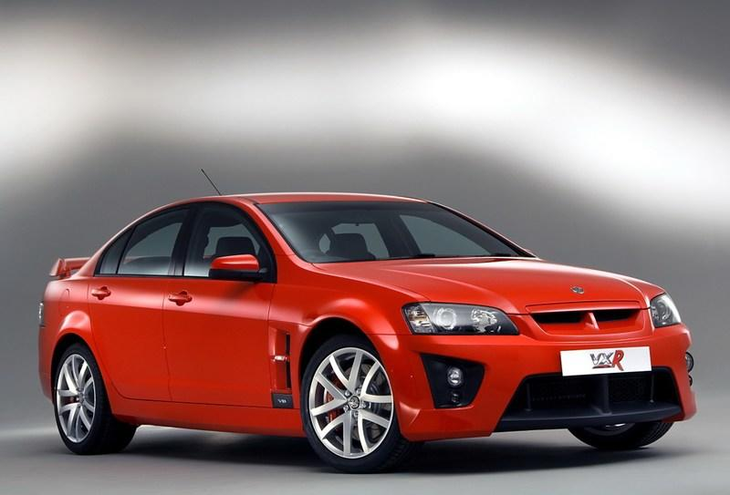 Vauxhall VXR8-420 hp in a sedan