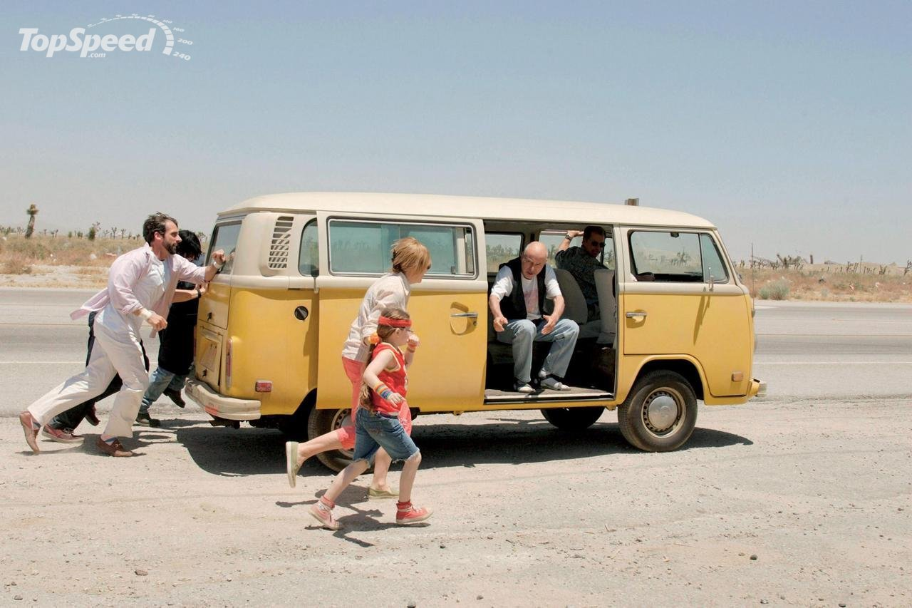 Volkswagen bus T2 going for an