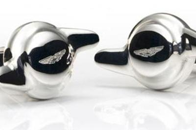007-like Cuff Links from Aston Martin