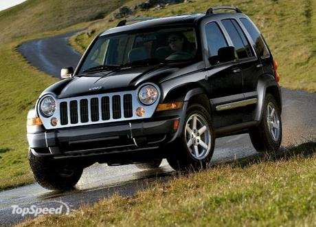 The Jeep Liberty received the government's highest rating for side-impact