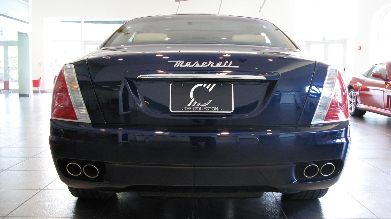 2007 maserati quattroporte automatic picture 153625. Black Bedroom Furniture Sets. Home Design Ideas