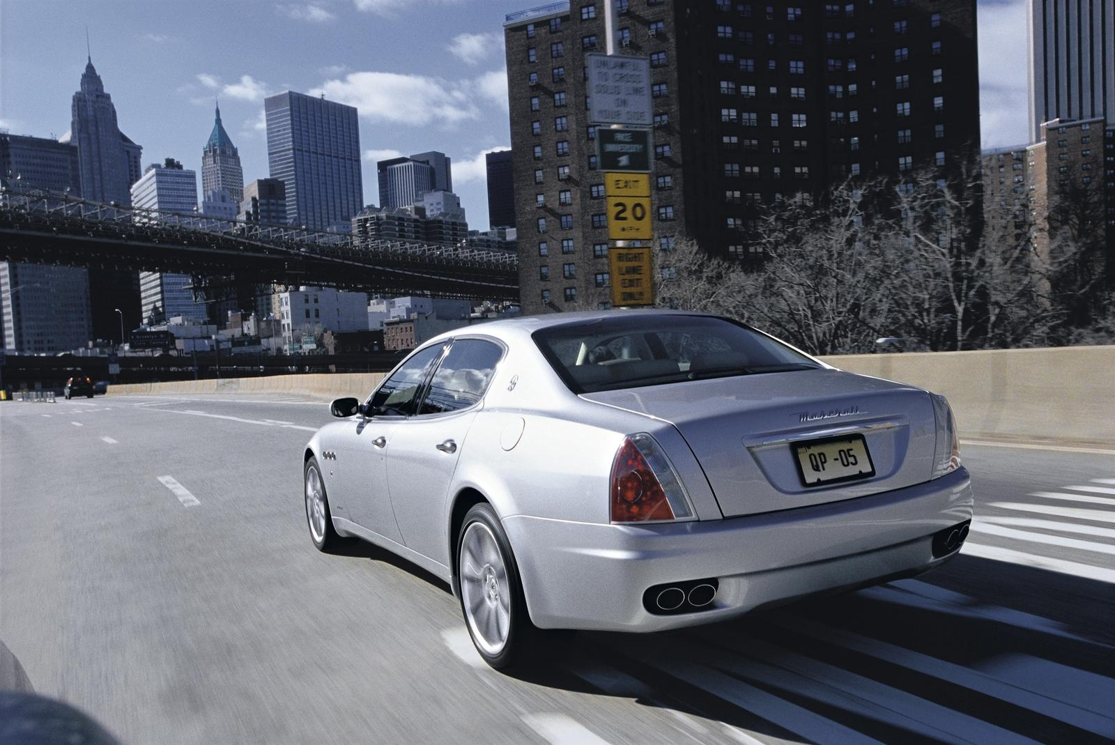 2007 maserati quattroporte automatic picture 153640 car review top speed. Black Bedroom Furniture Sets. Home Design Ideas