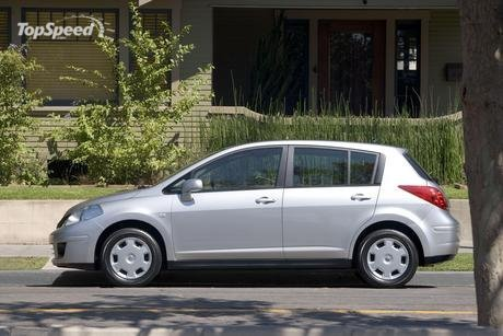 Both the Versa hatchback and Versa sedan also feature large cargo areas,