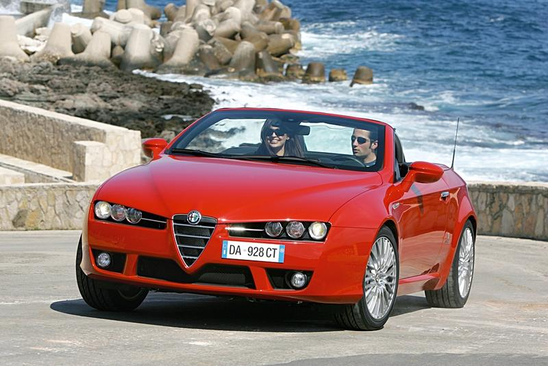 Alfa Romeo Spider - gay car of the year 2007