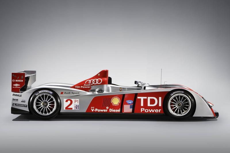 Audi R10 TDI - record lap at Sebring
