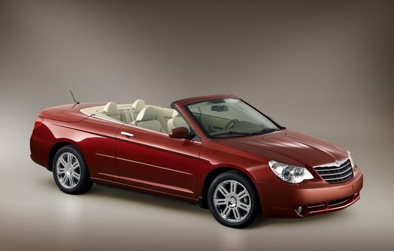 Chrysler Sebring Convertible pricing announced