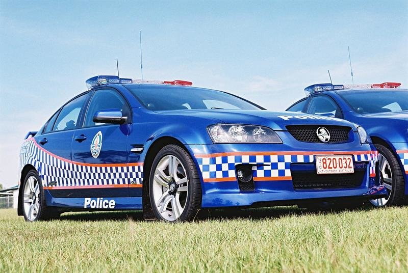 Holden VE Commodore Police Car