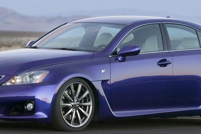Lexus working on IS-F Evo supercar