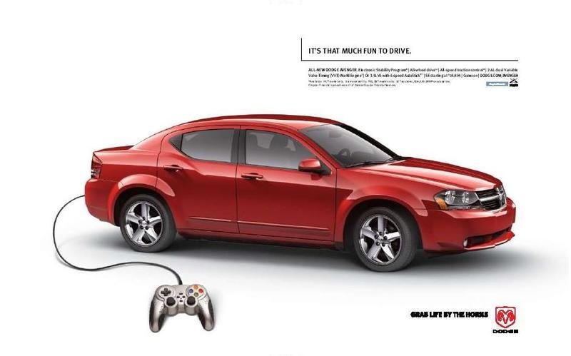 Marketing Campaign for the All-new 2008 Dodge Avenger