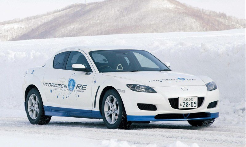 Mazda will launch hydrogen-electric hybrid in 2008