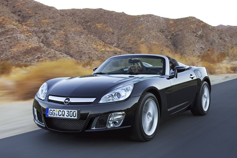 Opel GT as Cabrio of the Year 2007