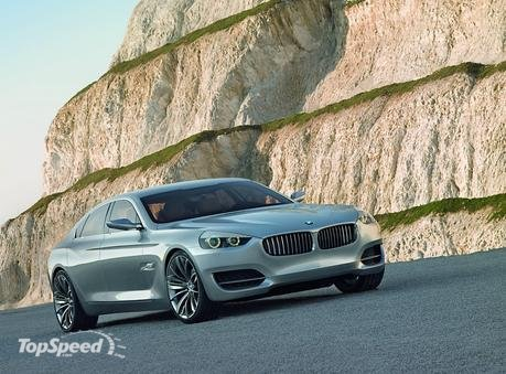Clearly, therefore, the BMW Concept CS is the pacemaker leading into a new