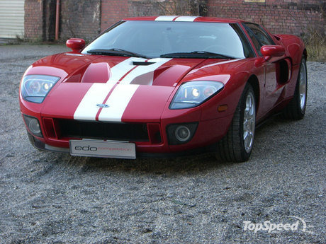Edo Competition has unveiled the Ford GT supercar.