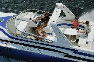 2007 Fountain Mercury 38 Express Cruiser