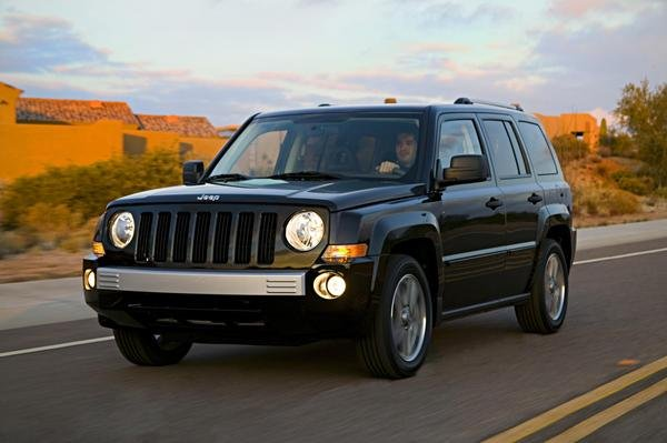 on the Jeep Patriot