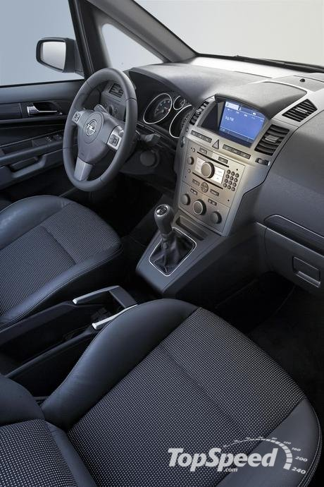 Car design news opel zafira interior for Interior zafira chevrolet