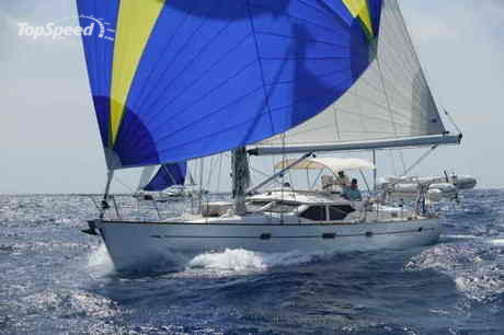 The Oyster 49, designed by Rob Humphreys and the Oyster Design Team, ...