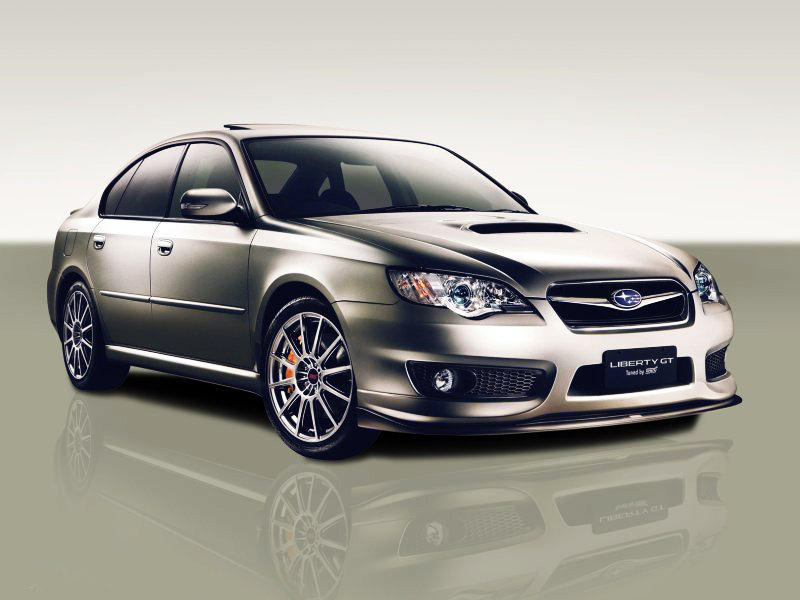 2007 Subaru Liberty GT tuned by STI