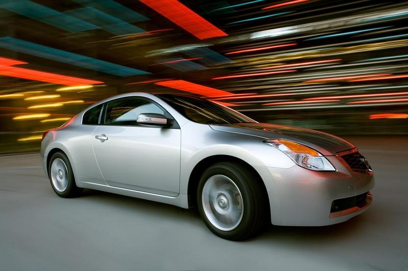 2008 Nissan Altima Coupe production starts