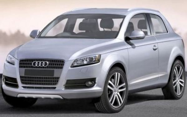 new small-SUV, the Q3, with a coupe-like shape will debut in 2010