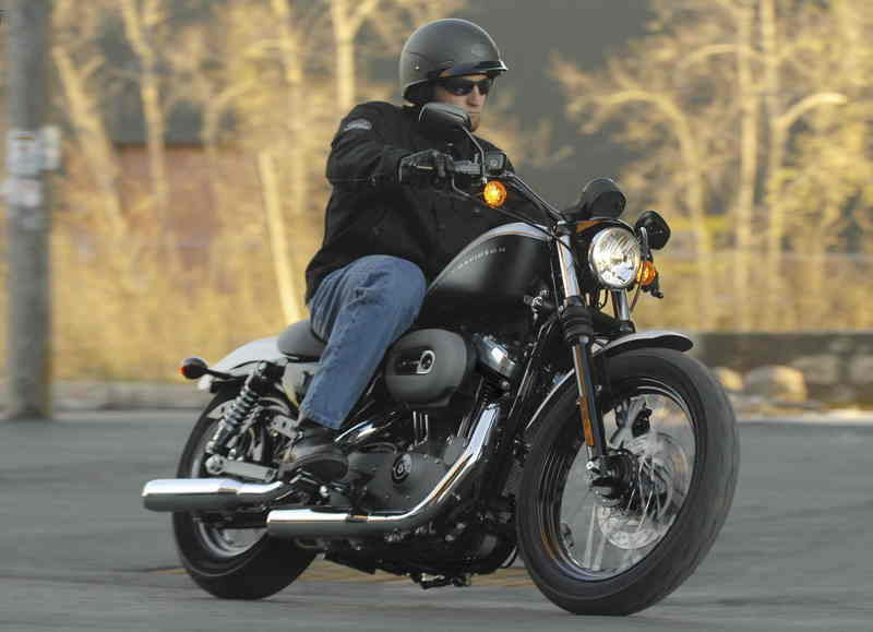 April is check your helmet month for Harley-Davidson