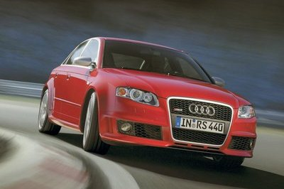 Audi RS4 Declared 2007 World Performance Car