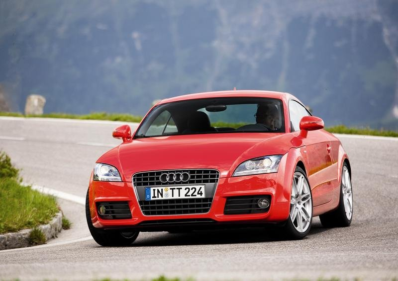 Audi TT - the most popular German car