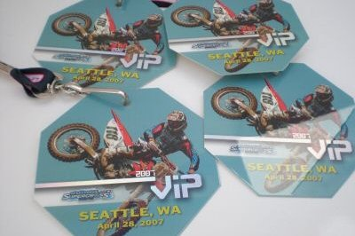 Ebay auctions for Seattle Supercross