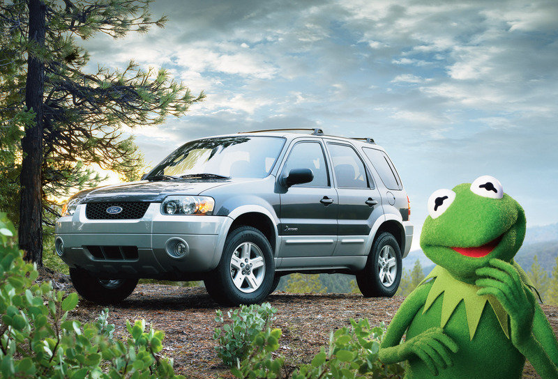 "Ford and Kermit the Frog ""Most Effective Automotive Ad"""