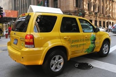 Ford Escape Hybrids Taxi