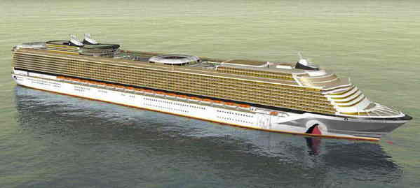 Largest Cruise Ship Concept Body