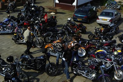 Hells Angels Amsterdam invite you to an
