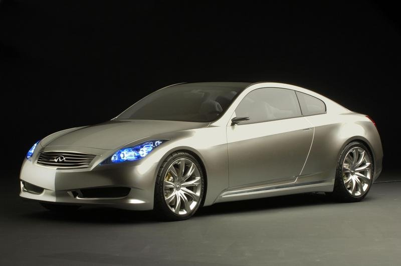 Infiniti Coupe Concept to compete in the 2007 Concorso d'Eleganza