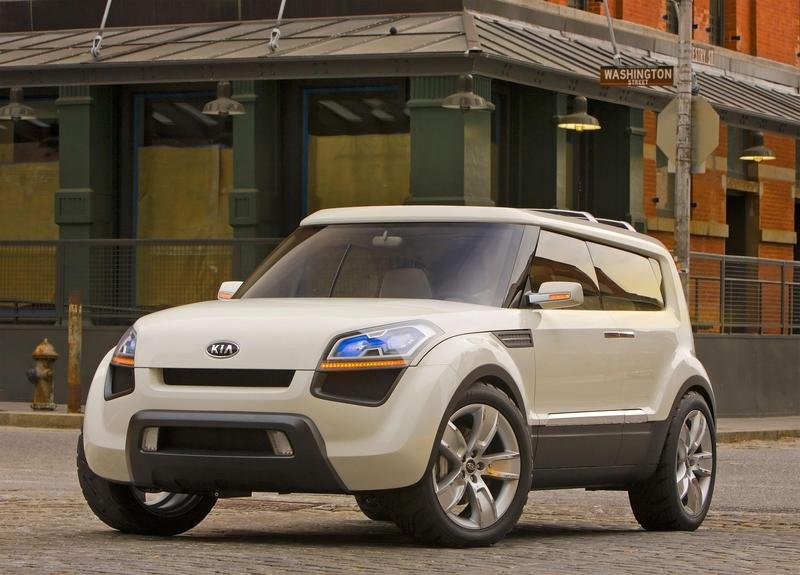 Kia Soul Will Join Line-Up in 2008 as a 2009 Model