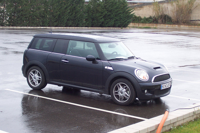 Mini Clubman S- spy shots