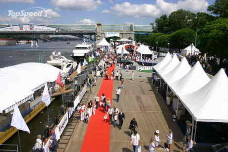 In total there will be more than 70 yachts on display, ...