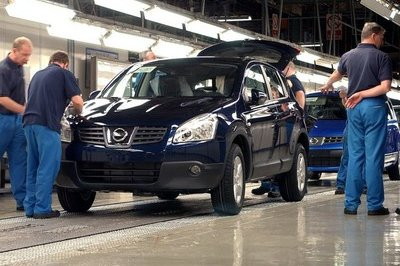 Nissan Qashqai into production