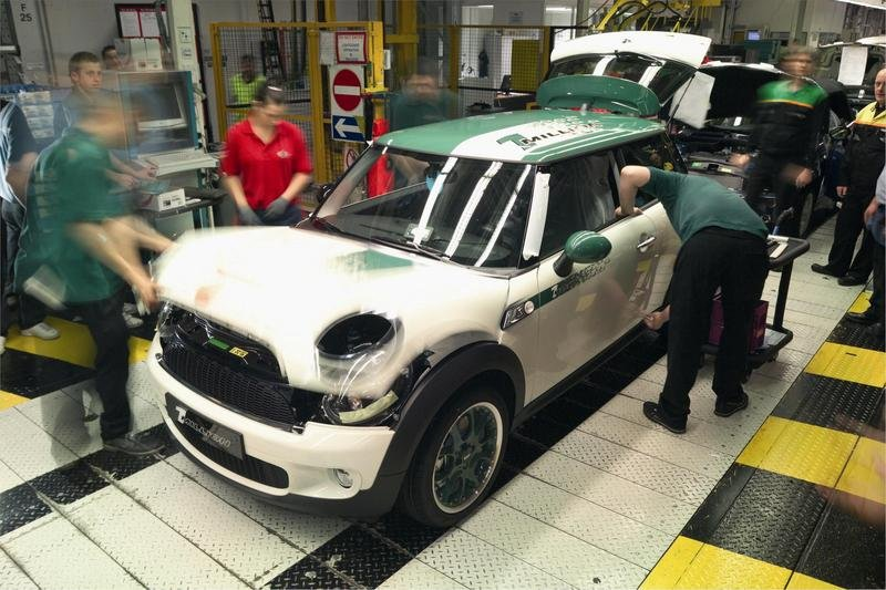 One millionth MINI produced