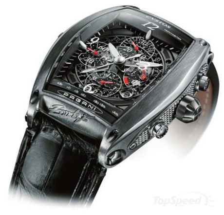 pagani zonda f wristwatch picture Every supercar owner has to match his car