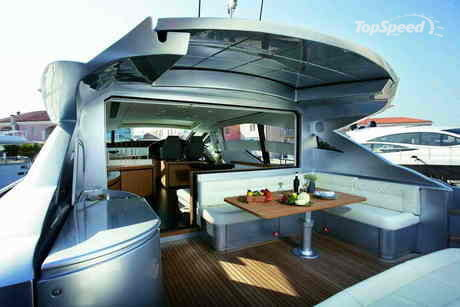 ... new Pershing 72' before it is unveiled at the major international boat ...