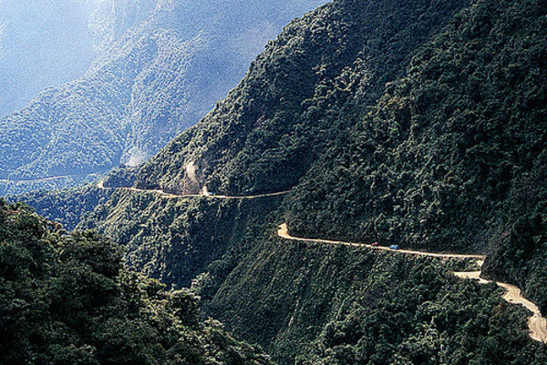 Road of death bolivia car news top speed