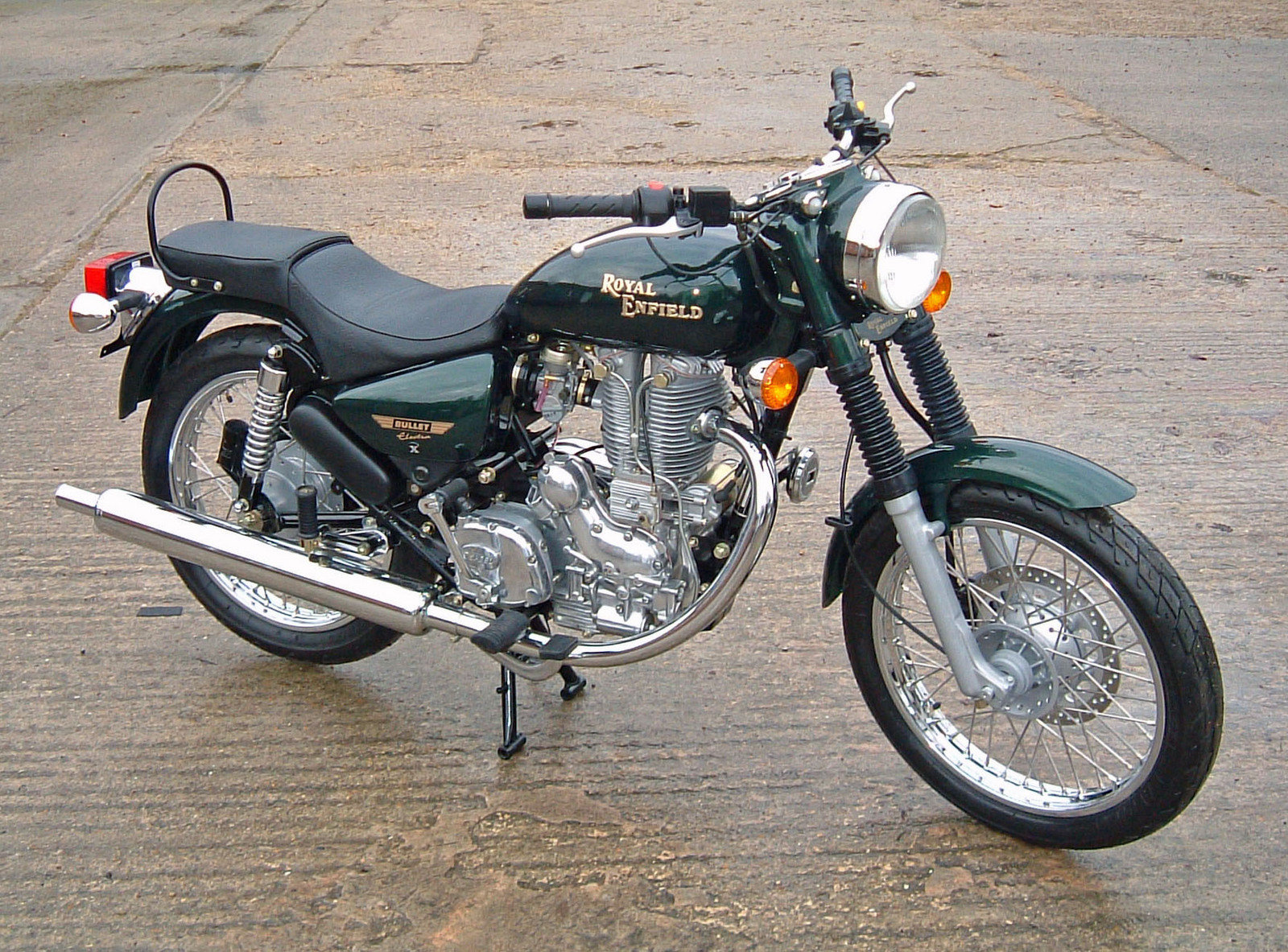 700cc Royal Enfield V Twin