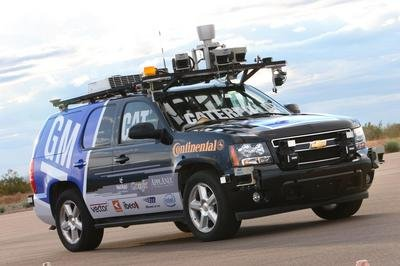 Self-driving Chevrolet Tahoe to compete in the Urban Challenge competition - image 158762