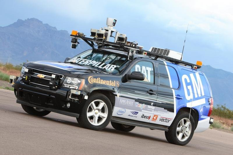Self-driving Chevrolet Tahoe to compete in the Urban Challenge competition