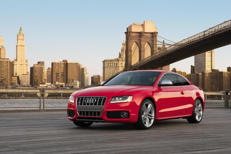 The Audi A5 in New York