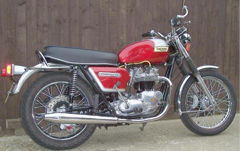 Triumph at the International Classic Motorcycle Show