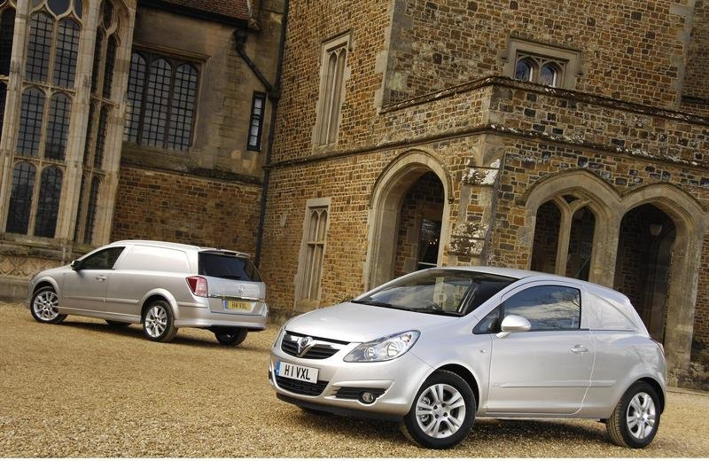Vauxhall Corsavan and Astravan concepts to star at NEC