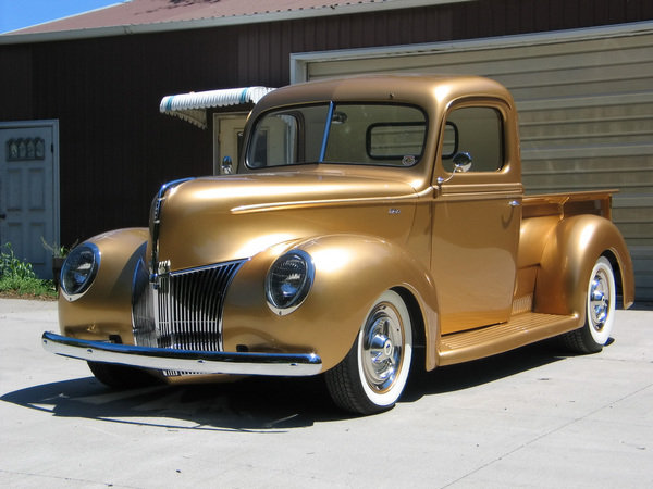 1940 ford pickup by fastlane rod shop car news top speed